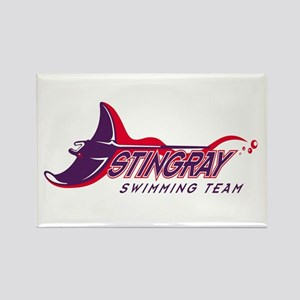 Stingray Swim Team Rectangle Magnet