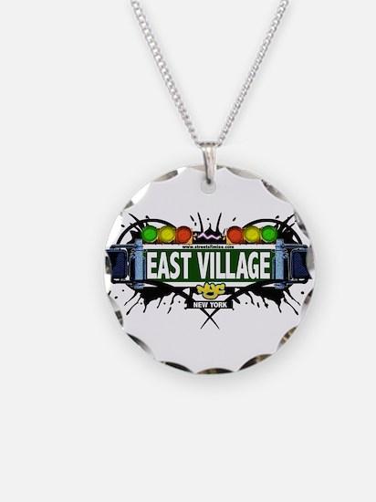 East Village Manhattan NYC (White) Necklace