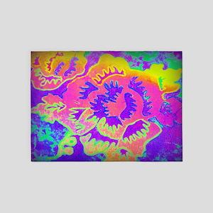 Neon Fantasy 5'x7'Area Rug