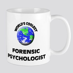 World's Coolest Forensic Psychologist Mug
