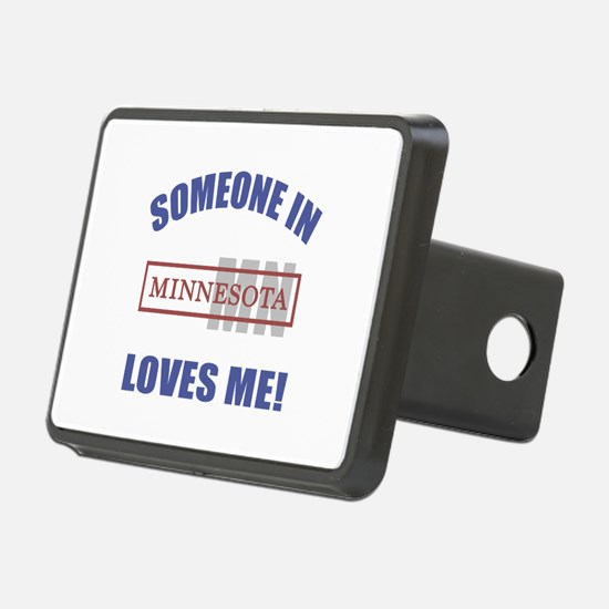 Someone In Minnesota Loves Me Hitch Cover