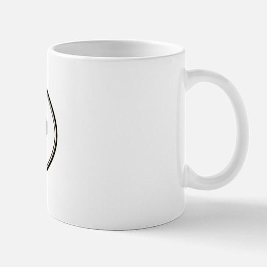 Oval Shih-Poo Mug