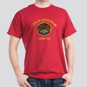 USS Abraham Lincoln CVN 72 Dark T-Shirt