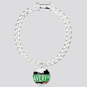 AVERY AVENUE, QUEENS, NYC Charm Bracelet, One Char