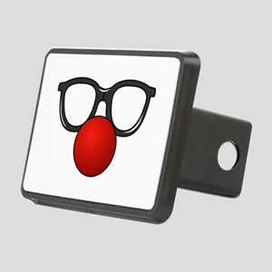 Funny Glasses with Clown Nose Hitch Cover