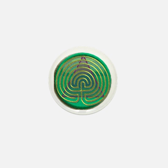 Labyrinth for Recovery Mini Button
