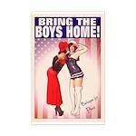 Bring The Boys Home! Mini Poster Print