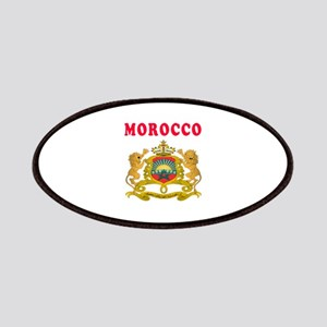 Morocco Coat Of Arms Designs Patches