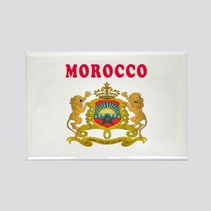 Morocco Coat Of Arms Designs Rectangle Magnet