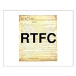 Read The Fine Constitution Small Poster