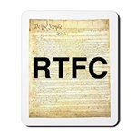 Read The Fine Constitution Mousepad