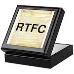 Read The Fine Constitution Keepsake Box