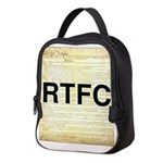 Read The Fine Constitution Neoprene Lunch Bag