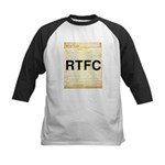 Read The Fine Constitution Kids Baseball Jersey