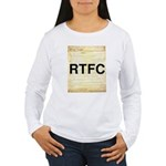 Read The Fine Constitution Women's Long Sleeve T-S