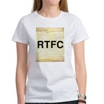Read The Fine Constitution Women's T-Shirt