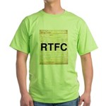 Read The Fine Constitution Green T-Shirt