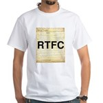Read The Fine Constitution White T-Shirt