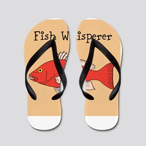 Fish Whisperer Flip Flops