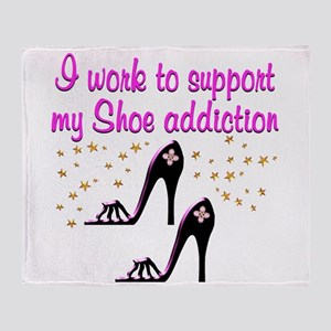 GLAMOUR SHOES Throw Blanket