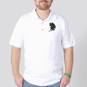 chibi dragon gothic Golf Shirt