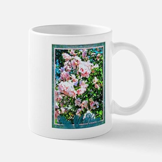 Rose of Sharon Hibiscus Mug