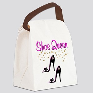 PURPLE SHOES Canvas Lunch Bag