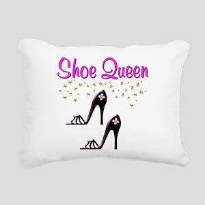 PURPLE SHOES Rectangular Canvas Pillow