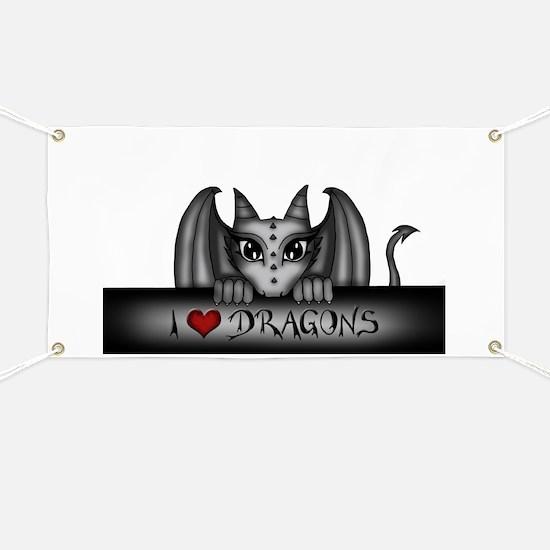 i love dragons Banner