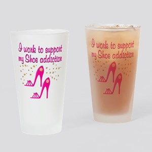 SHOE CHICK Drinking Glass