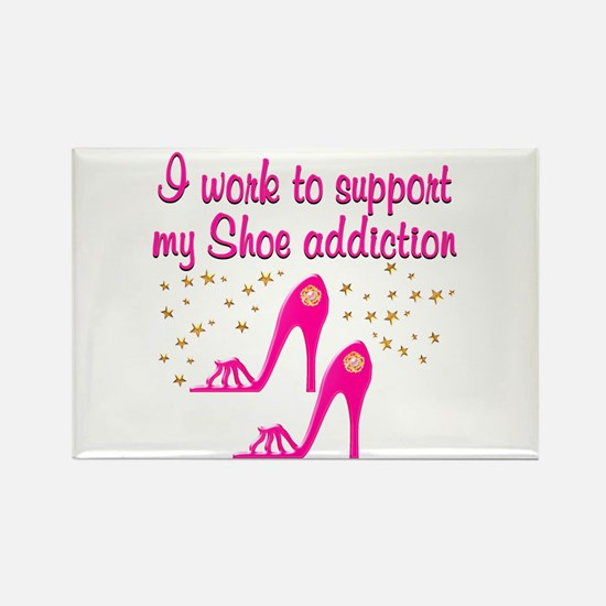 SHOE CHICK Rectangle Magnet