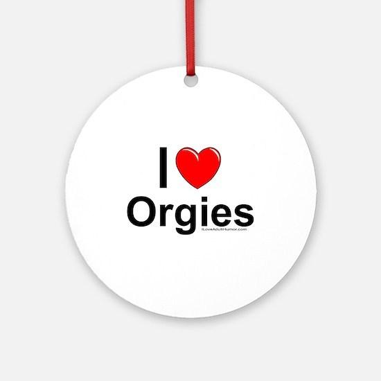 Orgies Ornament (Round)