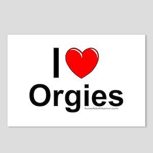 Orgies Postcards (Package of 8)