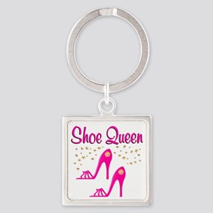 PRETTY SHOES Square Keychain