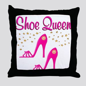 PRETTY SHOES Throw Pillow