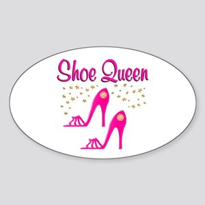PRETTY SHOES Sticker (Oval)