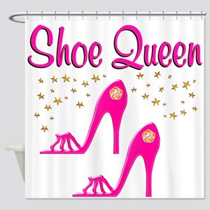 PRETTY SHOES Shower Curtain