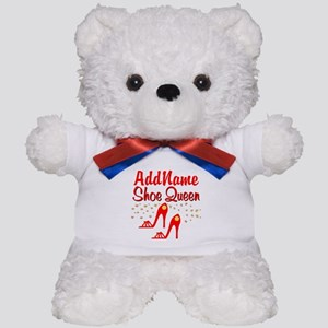 WILD RED SHOES Teddy Bear