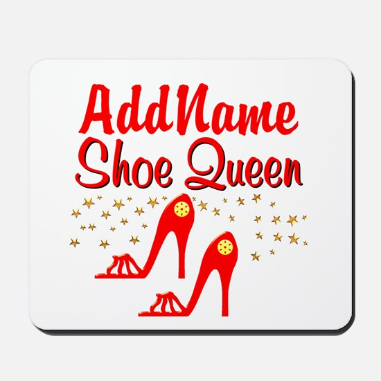 WILD RED SHOES Mousepad