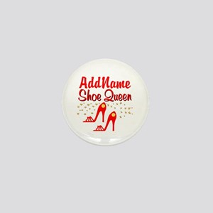 WILD RED SHOES Mini Button