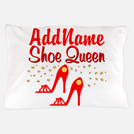 WILD RED SHOES Pillow Case
