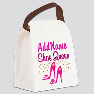 SEXY PINK SHOES Canvas Lunch Bag