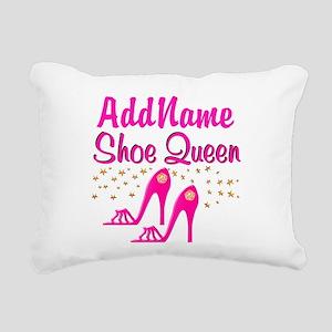 SEXY PINK SHOES Rectangular Canvas Pillow