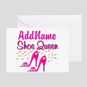 SEXY PINK SHOES Greeting Card