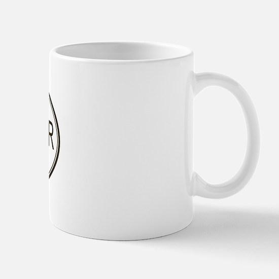 Oval Rat Terrier Mug