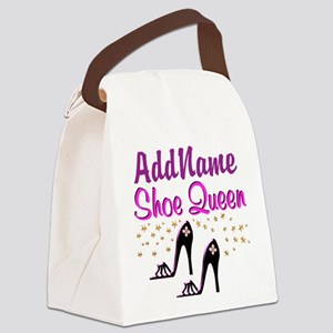 FUN PURPLE SHOES Canvas Lunch Bag
