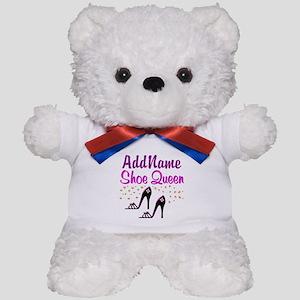 FUN PURPLE SHOES Teddy Bear