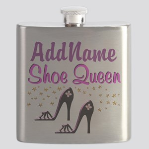 FUN PURPLE SHOES Flask