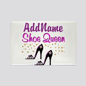 FUN PURPLE SHOES Rectangle Magnet
