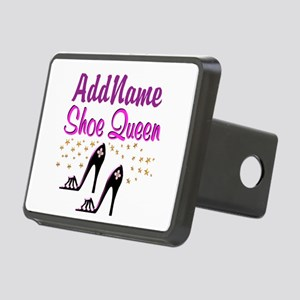 FUN PURPLE SHOES Rectangular Hitch Cover